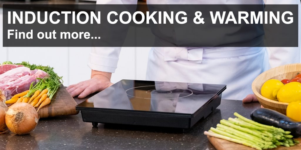 induction cooking and warming