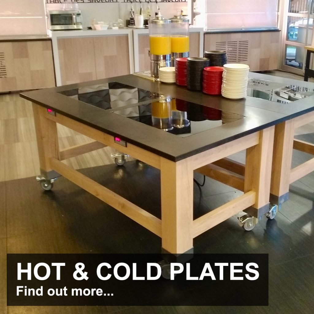 hot and cold plates